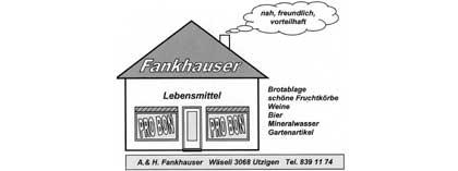Fankhauser, Lebensmittel